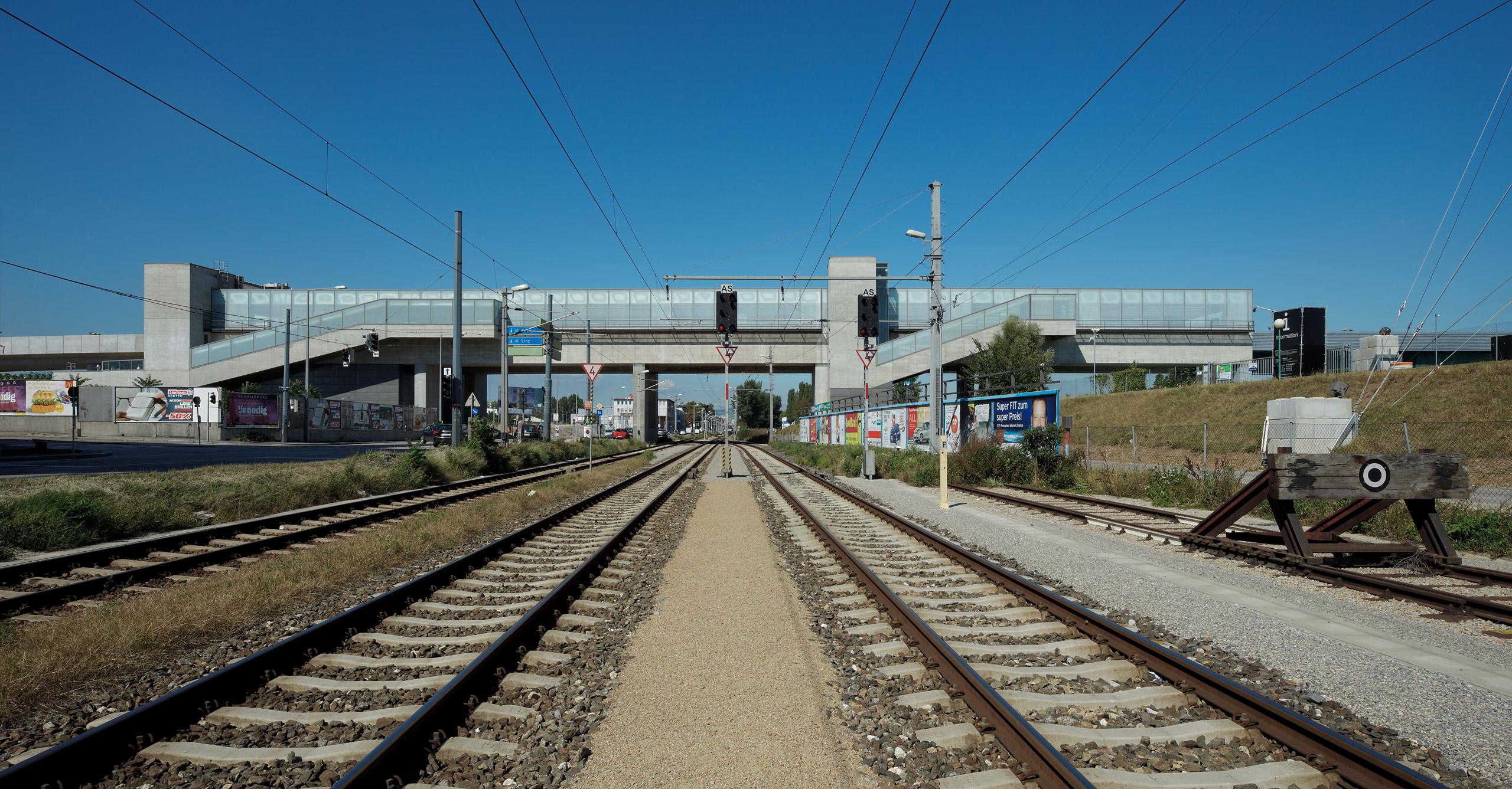 U2 Underground  Station Donaumarina