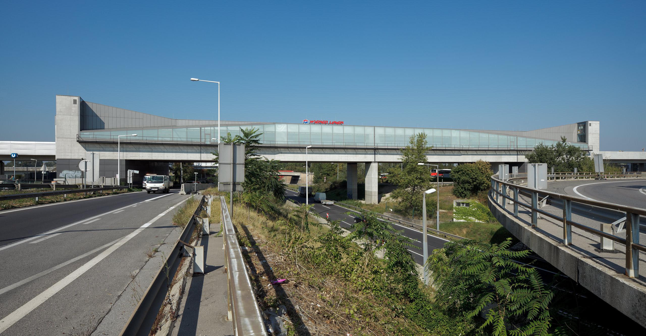 U2 Underground  Station Donaustadtbrücke