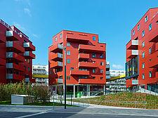 Housing Complex Sonnwendviertel