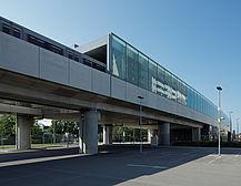 U2 Underground  Station Hardeggstrasse