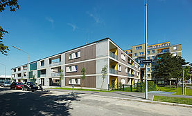 Housing Estate Wagramerstrasse