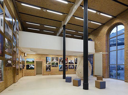 Exhibition Bau(t)en für die Künste