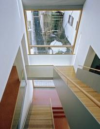 Town Hall Nüziders - staircase