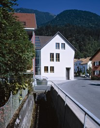 Town Hall Nüziders - urban-planning context