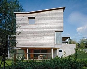 Residence Sutterlüty - west facade