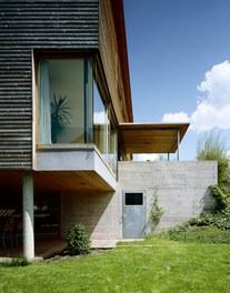 Residence Sutterlüty - detail of facade