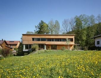 Residence Sutterlüty - south facade
