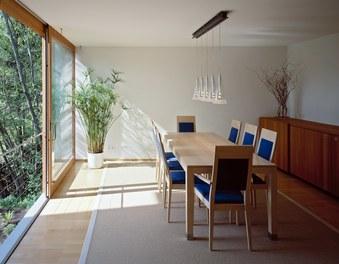 Residence Sutterlüty - living-dining room