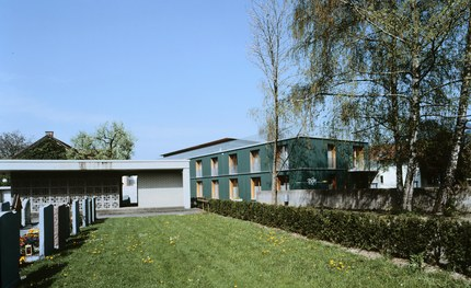 Community Center Altach - urban-planning context