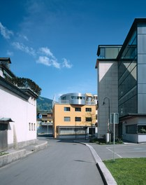 Conversion Residence Egger - urban-planning context