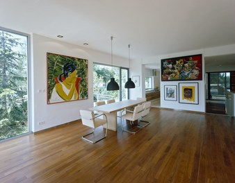 Residence Riedl - dining room