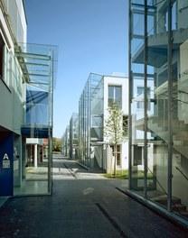 Housing Complex Paulasgasse - access