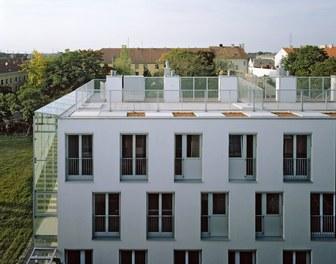 Housing Complex Paulasgasse - detail of facade