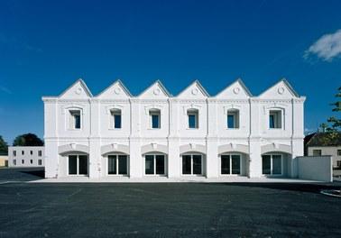 Housing Complex Nadelburg - south facade