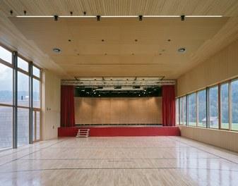 School Bizau - multi-purpose hall