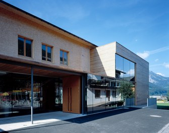 School Bizau - entrance