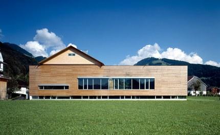 School Bizau - west facade