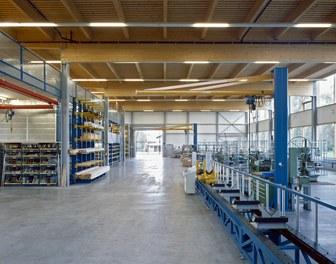 Headquarter Zimm - production area