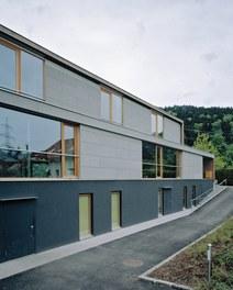 Kindergarten Bürs - detail of facade