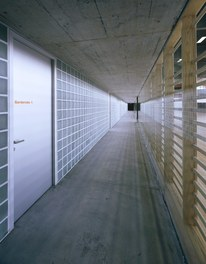 Cultural and Sports Center Gries - access to wardrobes