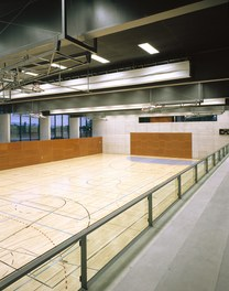 Cultural and Sports Center Gries - view from stands