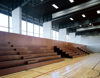Cultural and Sports Center Gries - main hall with stands