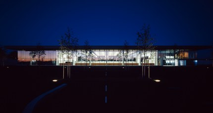 Cultural and Sports Center Gries - night shot