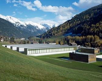Arlberg Well.com - roof with skylight