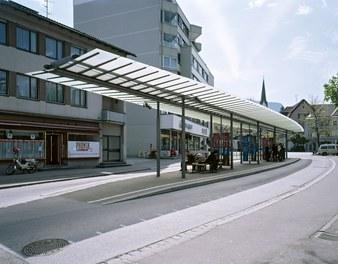 Bus Stop Dornbirn - general view