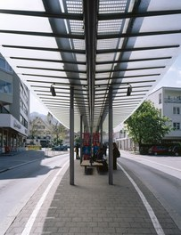 Bus Stop Dornbirn - detail