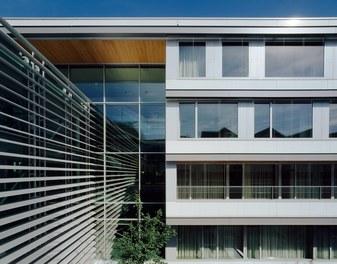 Donauklinikum Tulln - detail of facade