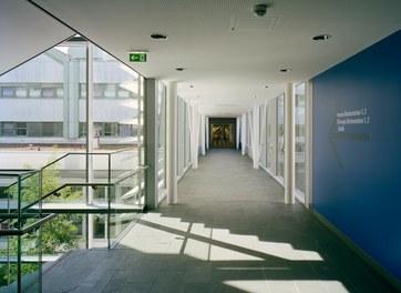 Donauklinikum Tulln - hallway