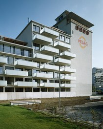 Revitalization Velag Area - balconies and tower