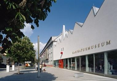 Karikaturmuseum Krems - general view