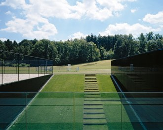 ETH Sport Center - view from sportsground