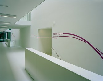 ETH Sport Center - corridor with guidance system