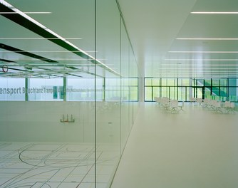 ETH Sport Center - view from foyer into gym