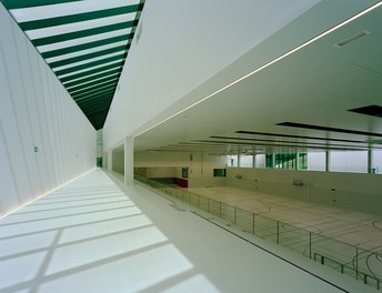 ETH Sport Center - view from stands