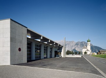 Multipurpose Building Bartholomäberg - view from east