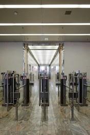 Millenium Tower - security check