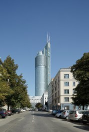 Millenium Tower - view from street