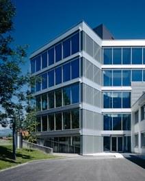 Headquarter Getzner - side entrance