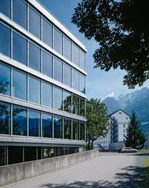 Headquarter Getzner - west facade