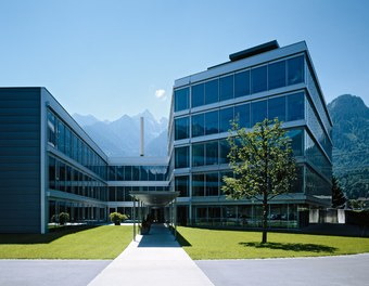 Headquarter Getzner - main entrance