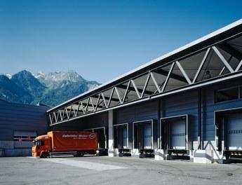Headquarter Getzner - loading zone