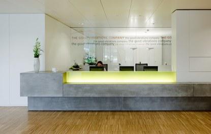 Headquarter Getzner - reception