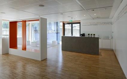 Headquarter Getzner - show room