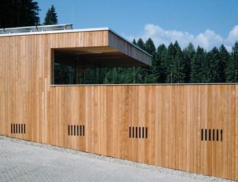 Sportcenter Sistrans - detail of facade