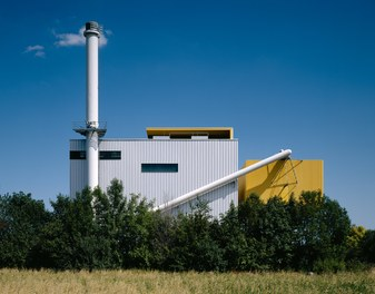 Biomass Power Plant Baden - view from west
