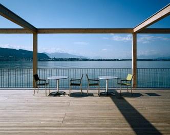 Bathhouse Kaiserstrand - terrace